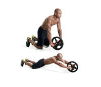 3. Seated sit-up machine