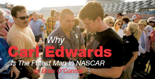 Fittest Man in NASCAR