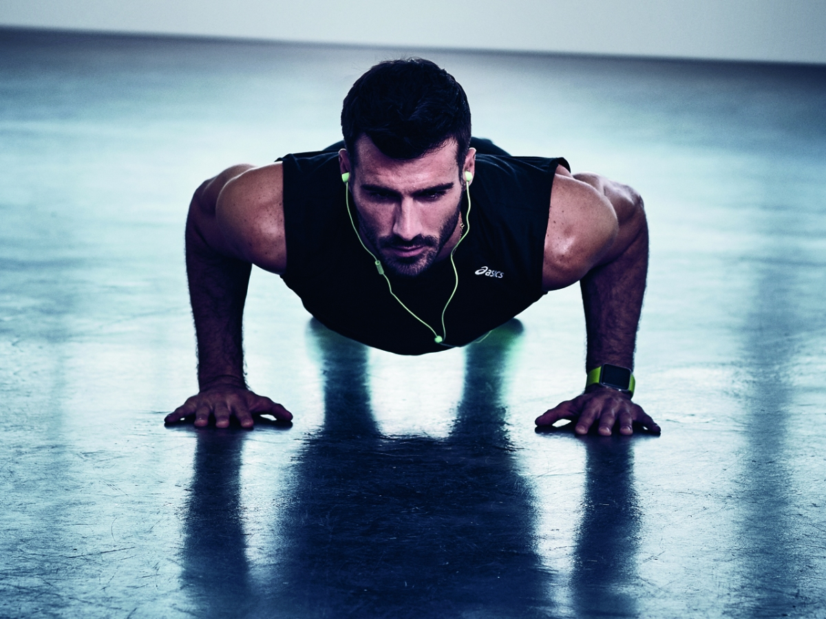 How to do 100 pushups without stopping
