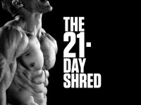 The 21-day shred: what if I work out in the morning