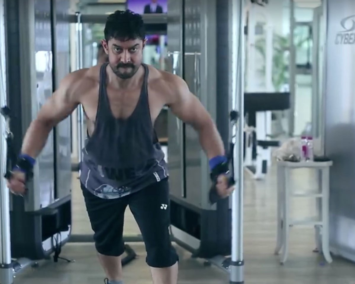 Actor Aamir Khan Totally Transformed His Body For His New Movie Dangal