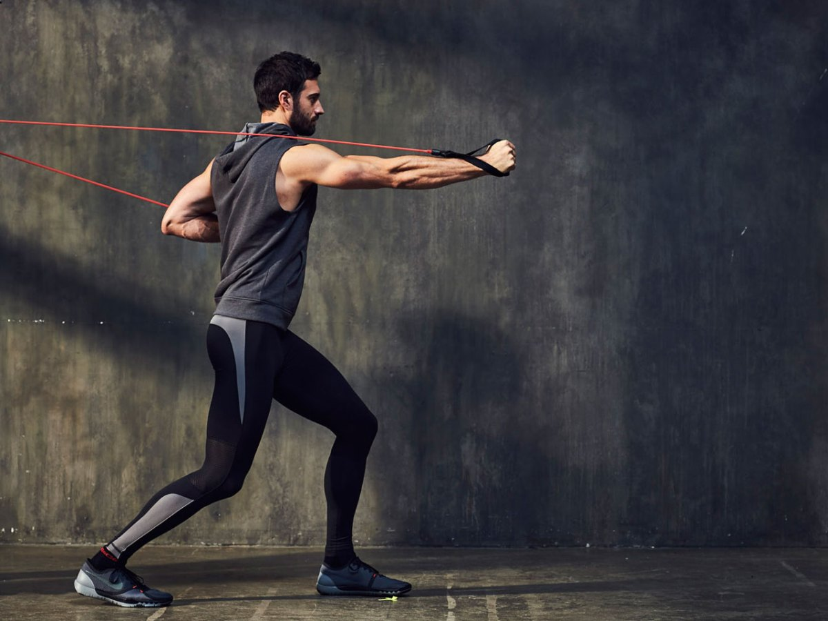 The Resistance Band Muscle-Builder Workout