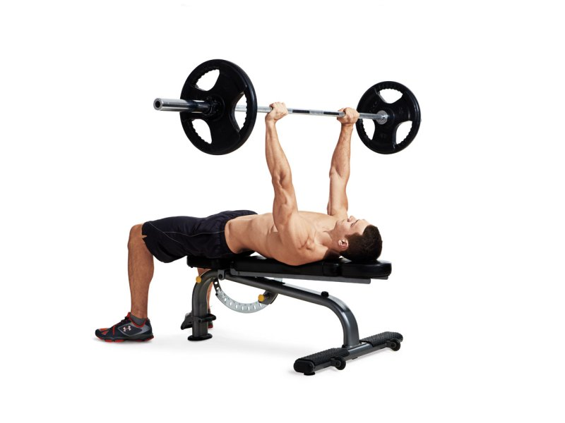 1 Barbell Bench Press