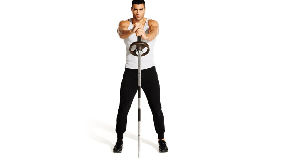 Explode Through Any Plateau With the Landmine Rotational Clean and Press