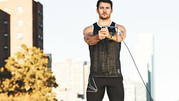 Challenge your abs with the Pallof press