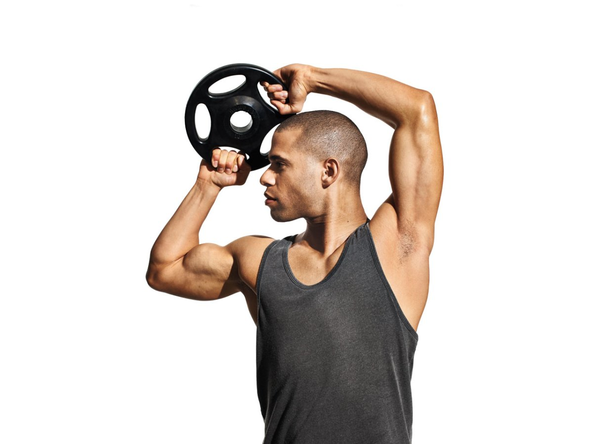 The surprisingly difficult 45-pound plate workout