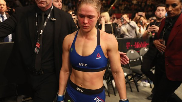 Ronda Rousey is 'probably done'