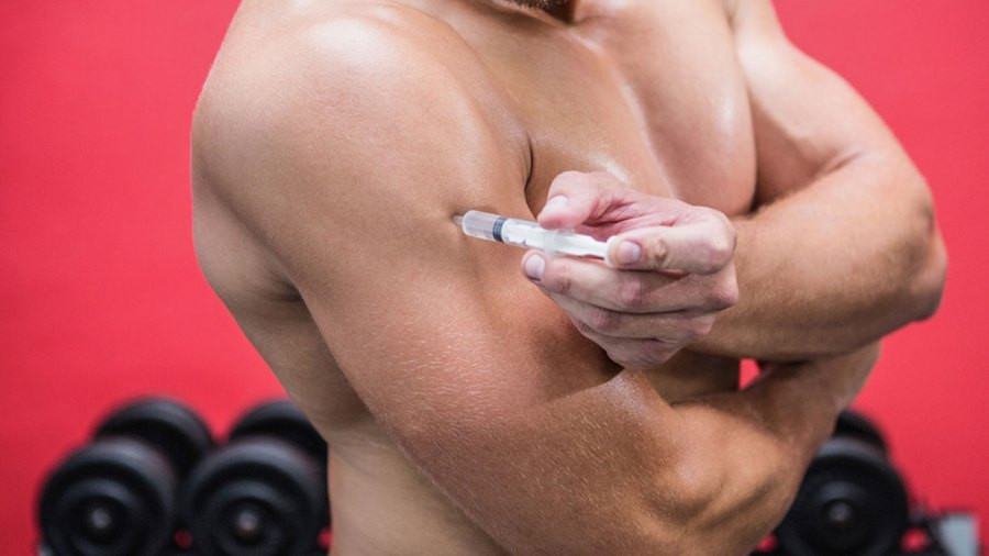 A Bodybuilder Nearly Destroyed His Triceps by Injecting Himself With Coconut Oil