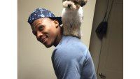 Gallery: 25 athletes and their awesome pets