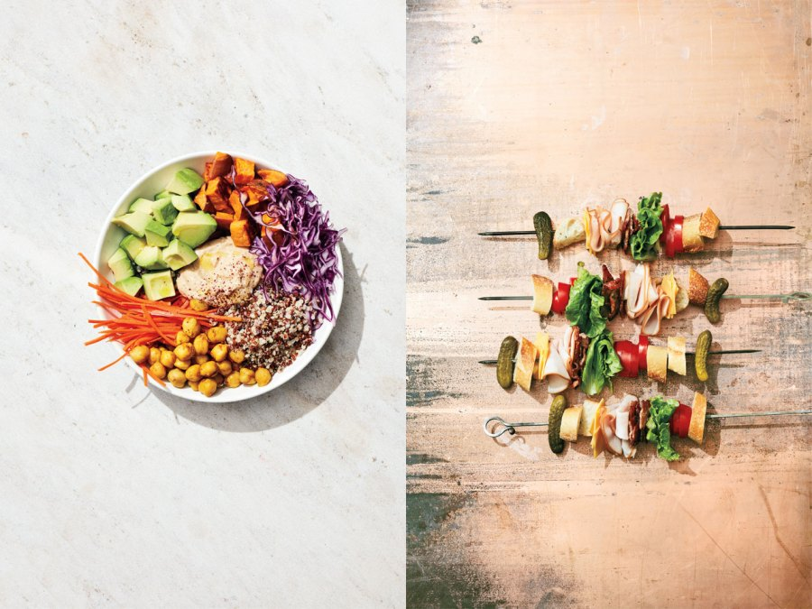 The fast-casual lunch: from grain bowls to skewers