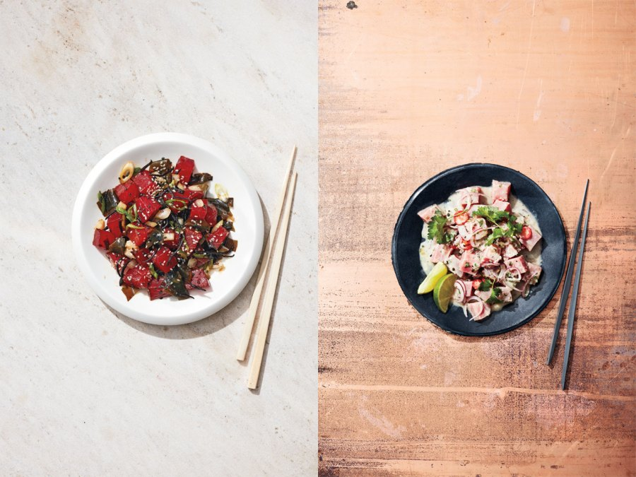 Seafood dish: From poké to kinilaw