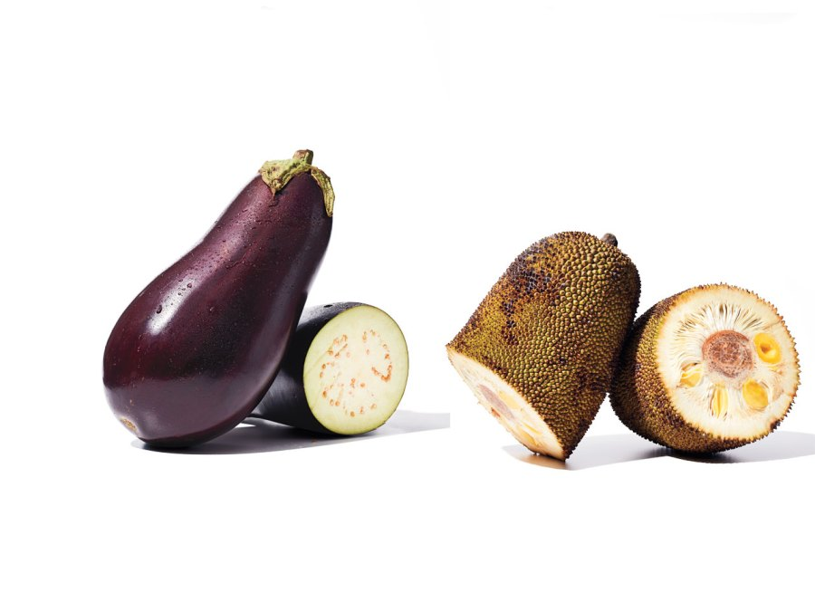 Protein substitute: From egg plant to jackfruit