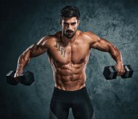 Get six-pack abs with free weights