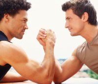 """Ask Men's Fitness: """"What's the Right Strategy for Arm Wrestling? Is It Just All Biceps, or What?"""""""