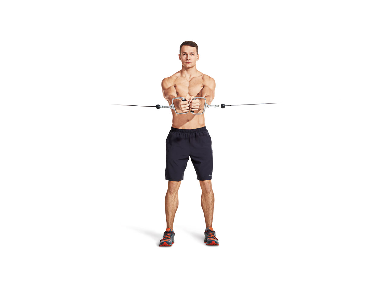 cable crossover exercise for upper chest