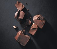 Cacao nibs and dark chocolate (the darker, the better)