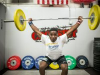 C.J. Cummings Sets Weightlifting World Record in Youth World Championship Win