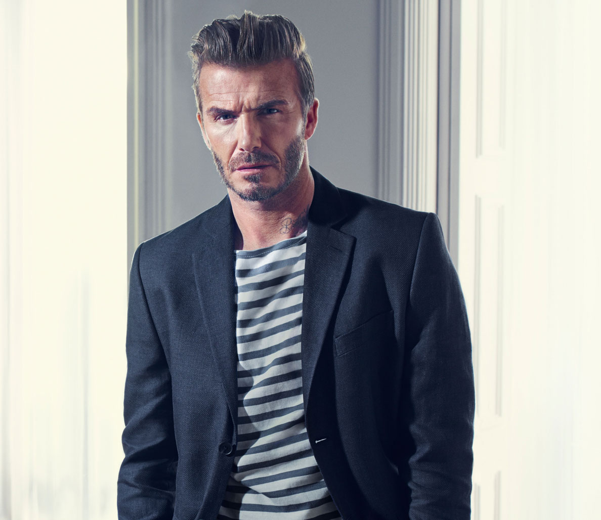 What It Takes To Pull Off The David Beckham Hairstyle