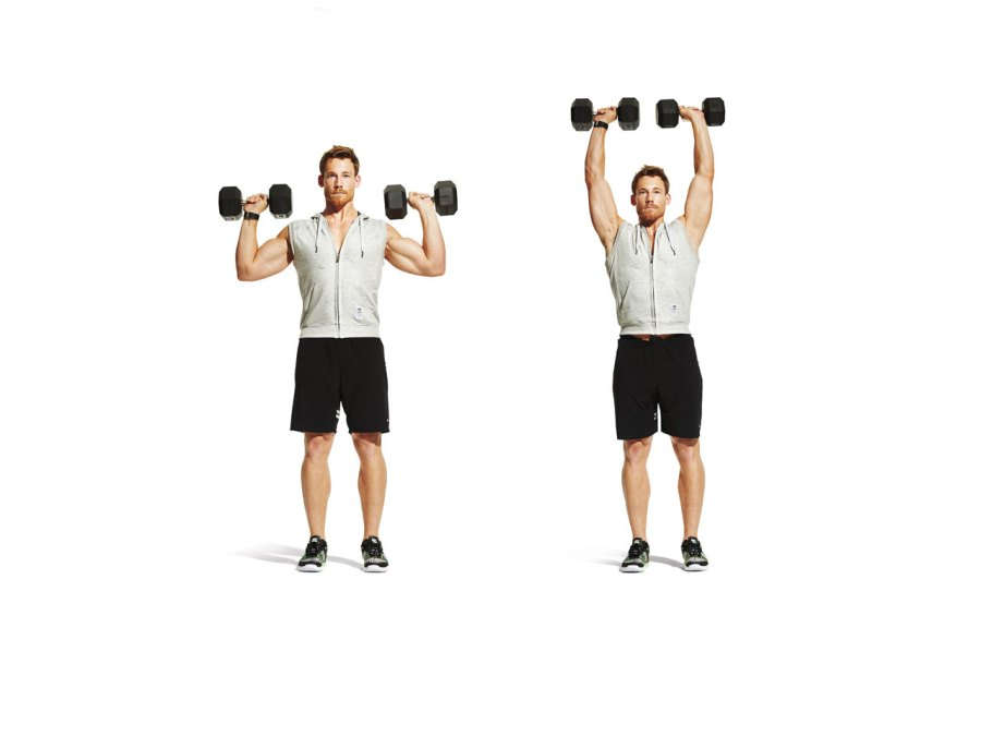 Workout #4: Dumbbell complex