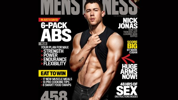 Pick Up the New Issue of Men's Fitness
