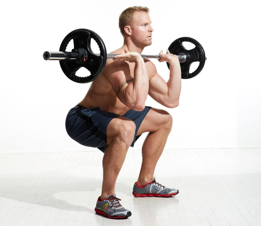 3. Barbell Front Squat