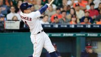 Fit Fix: George Springer Crushes a Home Run Out of the Houston Astros' Stadium