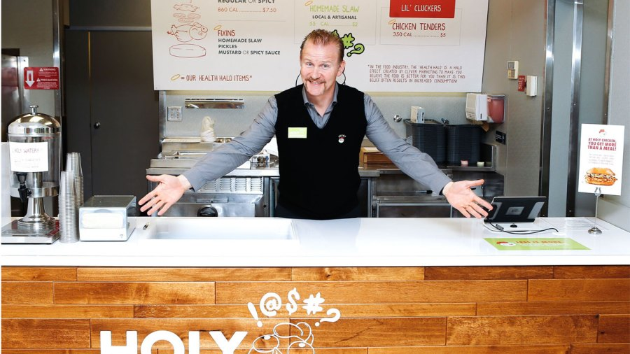 The 'Super Size Me' Guy Is Trying to Revolutionize Fast Food Chains. so He Started One of His Own.
