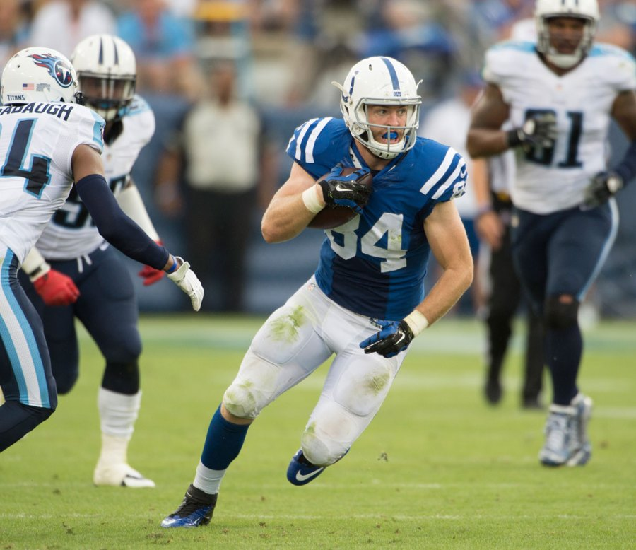 Jack Doyle (TE, IND) – 46% Owned