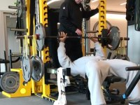 Watch Pittsburgh Steelers Linebacker James Harrison Crush a Crazy 'Super Band' Bench Press