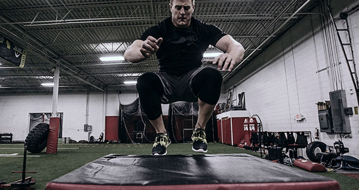 How to Box-Jump Like J.J. Watt