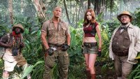 Kevin Hart and Dwayne Johnson Hit the Jungle in First 'Jumanji' Photo