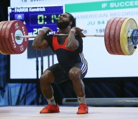 Kendrick Farris, Weightlifting