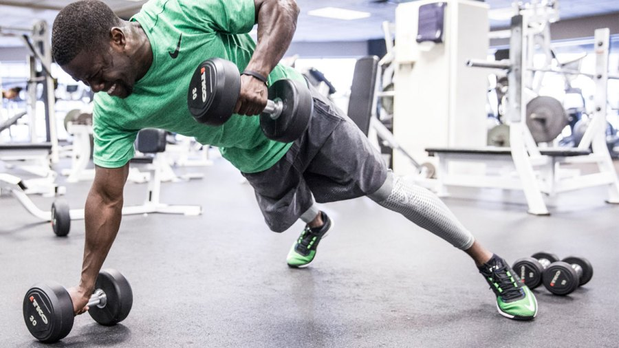 Kevin Hart Is Working Out Harder Than Ever