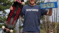 Skateboarder Smashes Speed World Record, Boards Faster Than Most Cars