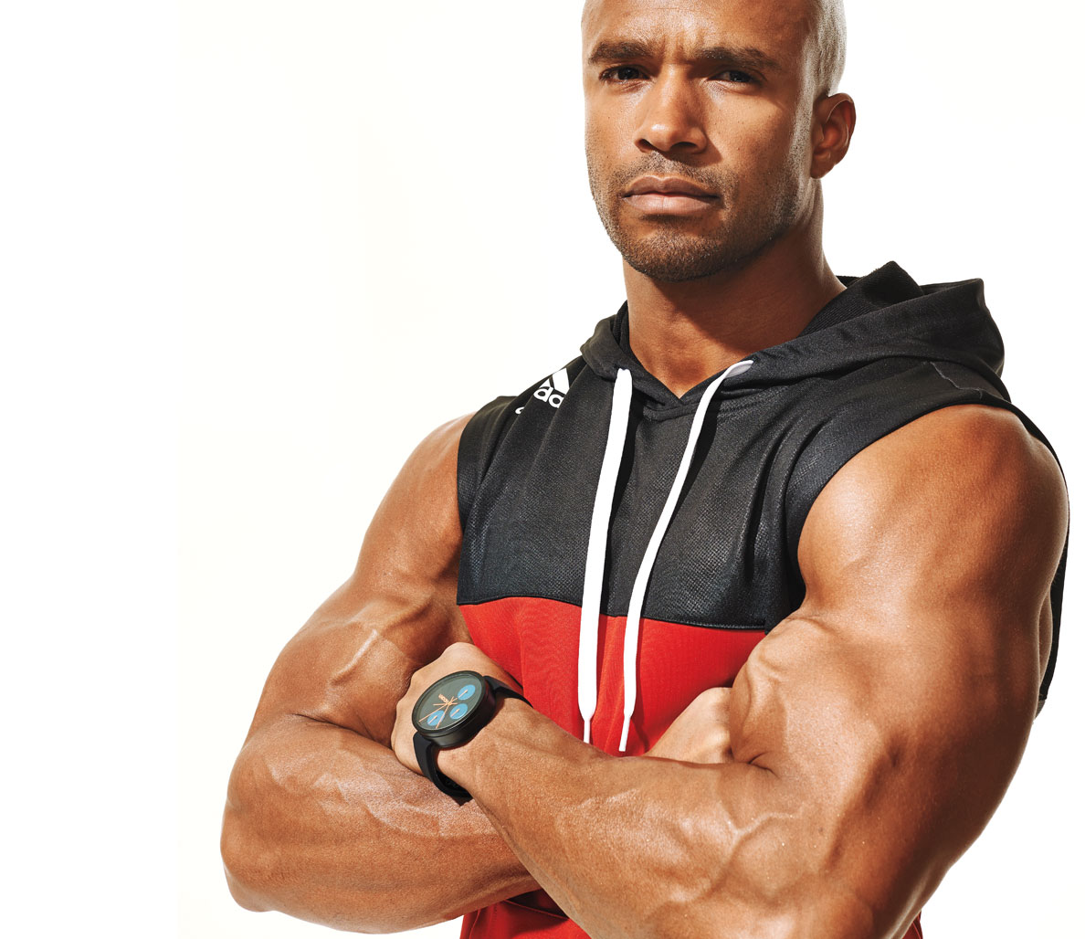 Take on the Hollywood bis and tris workout
