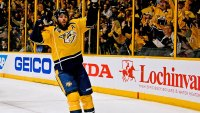 Fit Fix: Mike Fisher Scores Triple-Overtime Goal to Lead Predators Over Sharks