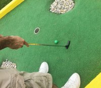 "Ask Men's Fitness: ""Can Playing Mini Golf Improve My Putting in Real Golf, or Will It Screw up My Form?"""