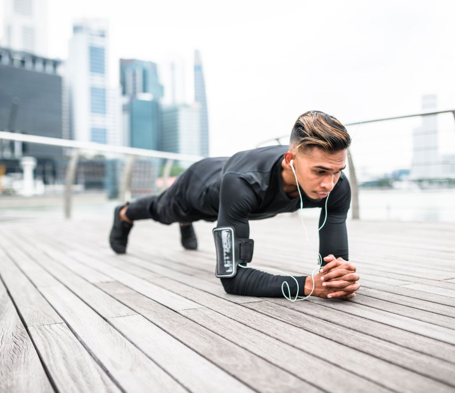 5. Plank-to-Pushup