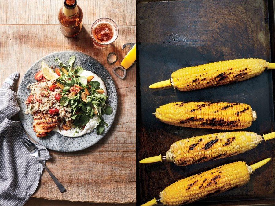 Grill Side: From quinoa salad to mexican corn