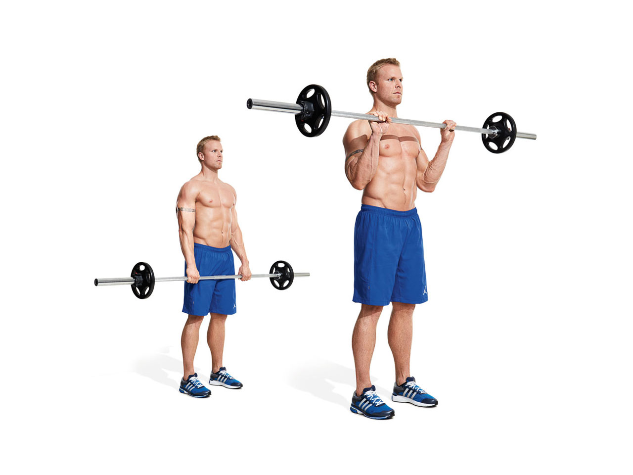 Picture Name of Exercise Reverse Preacher Curls Start by sitting in the machine as shown and reverse your hands as shown This will work a your Brachialis and