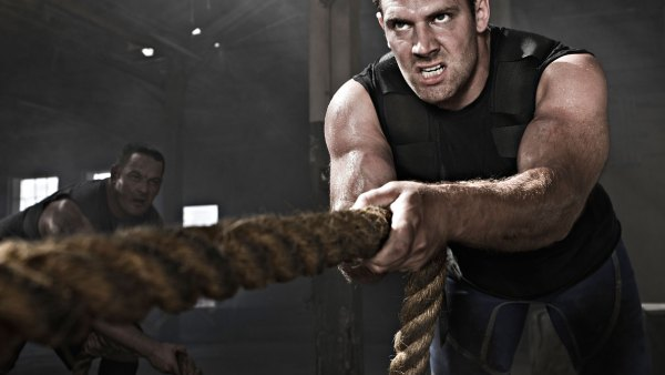 Pump Up With Heavy Rope Training