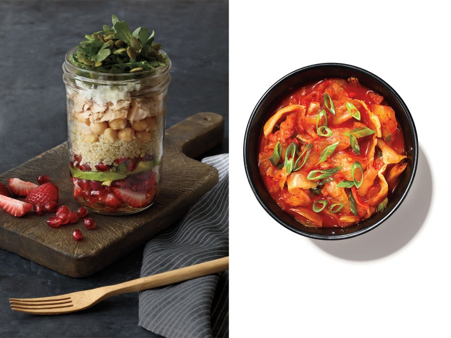 Guy salad: From salad in a jar to quick kimchis
