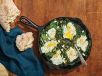 How to Make Green Superfood Shakshuka