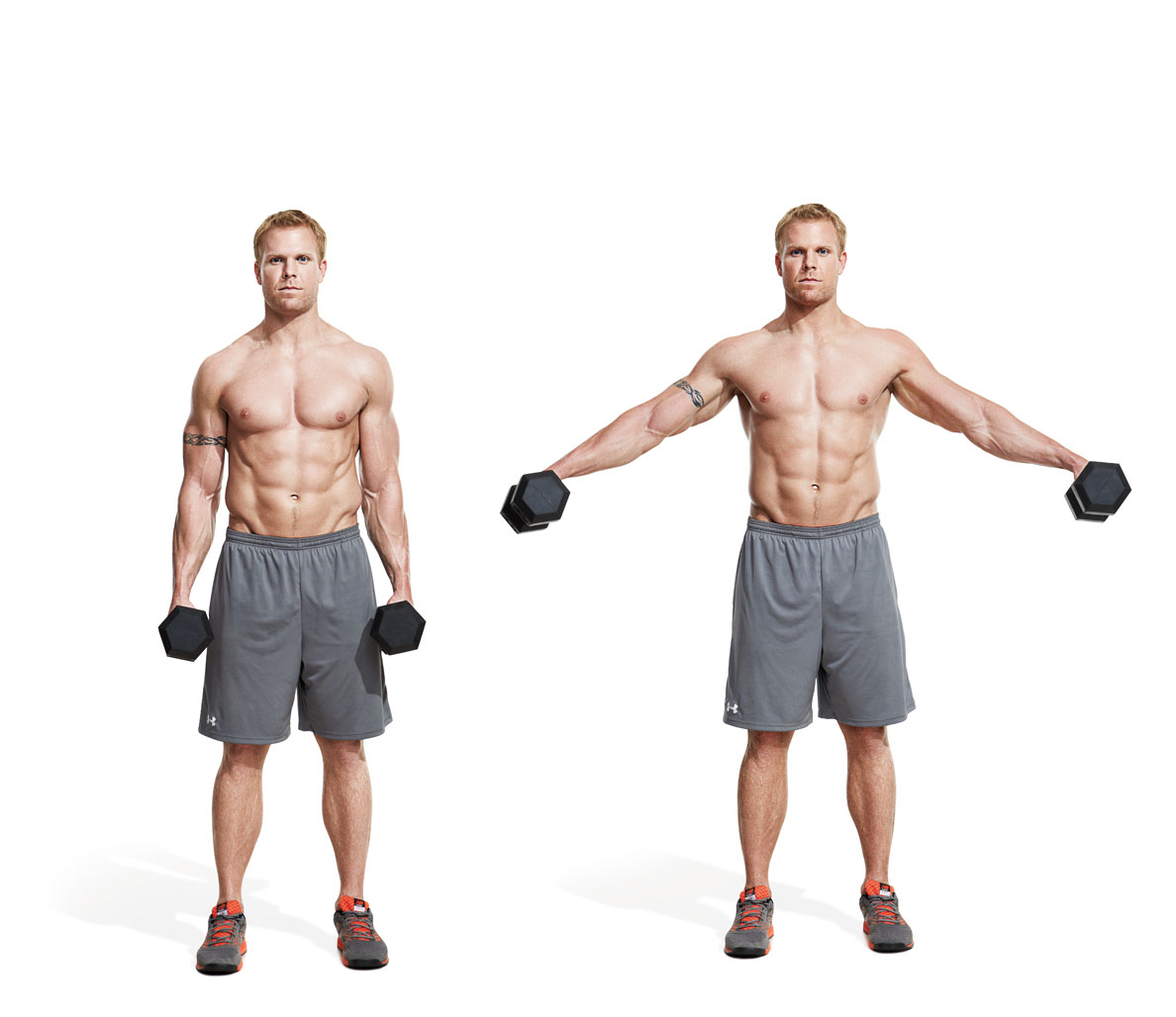 The Workout to Get Big—But Stay Shredded