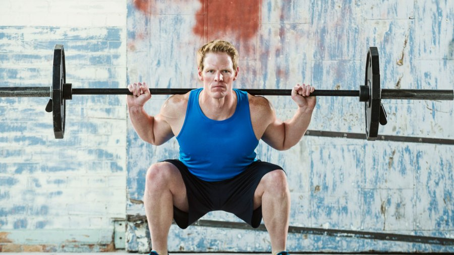 The 100-rep Squat Workout