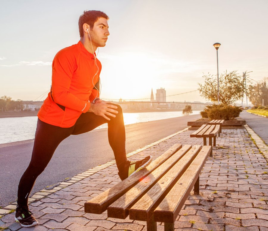 4. You skip post-workout stretches