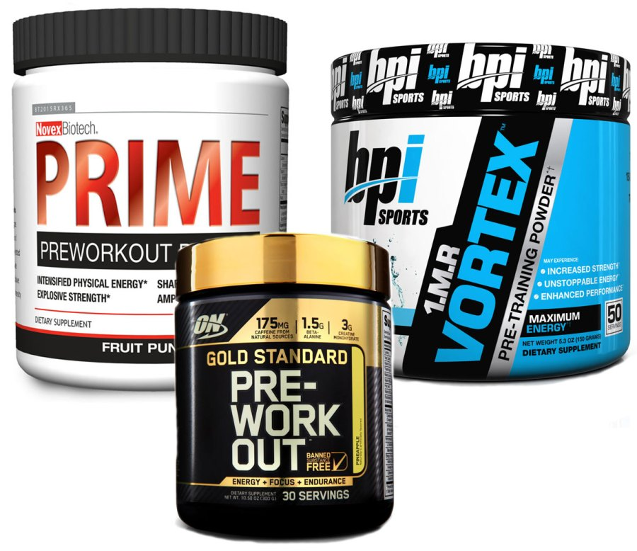 3 Pre-Workout Supplements for the Energy You Need