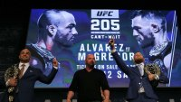 The 5 Best Moments From the UFC 205 Press Conference