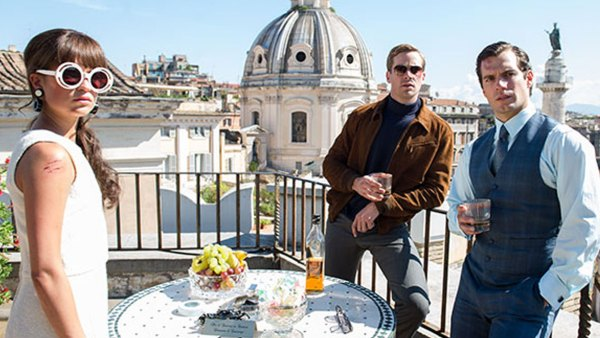 What Henry Cavill is Drinking in The Man from U.N.C.L.E.