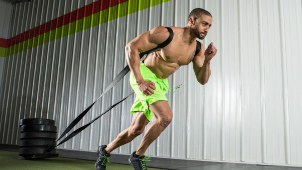 The weight sled workout